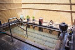 泳げるほど広くて開放的な露天風呂!「みゆき屋」の家族湯