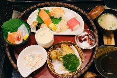 ちょっと高級 ハイグレード回転寿司「水天」のランチ