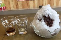 手作りあんこをたっぷり味わう「とらや」のかき氷